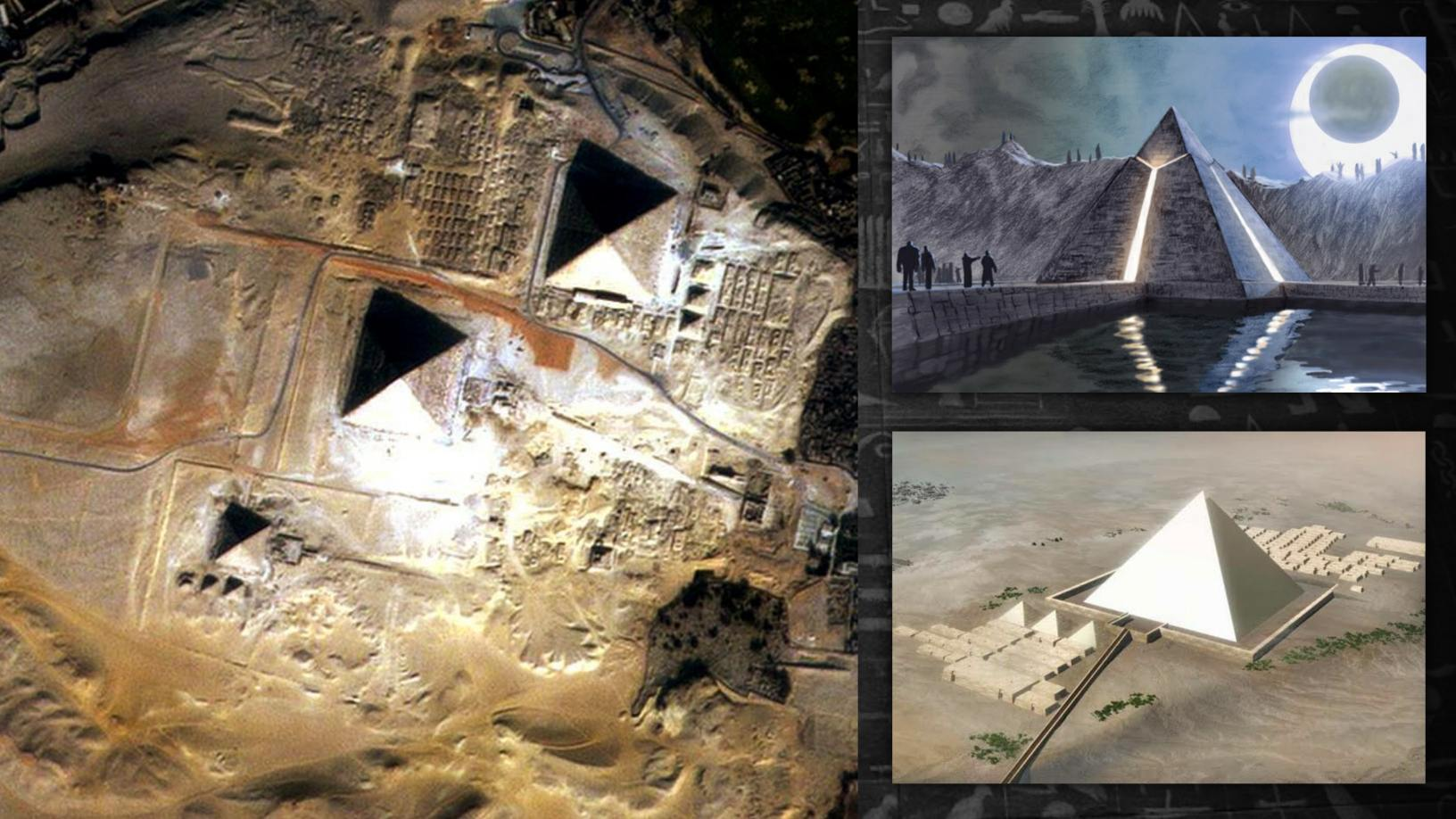 Advanced machines of unknown origin mentioned in a 440 BC text may have helped to build the pyramids of Egypt 5