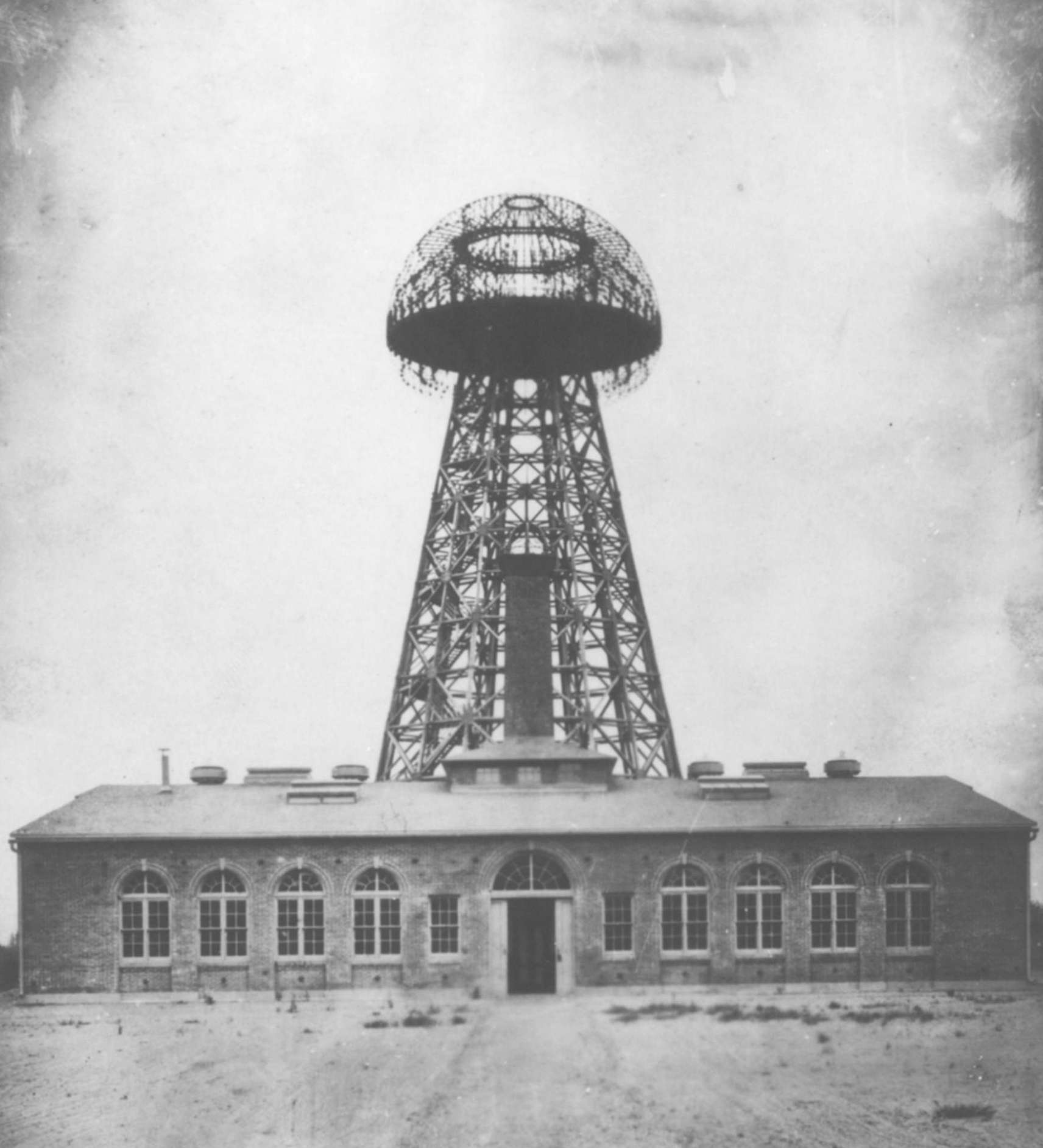 Tesla Broadcast Tower