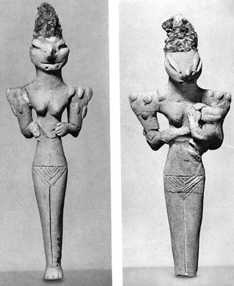 The Ubaid lizard-people figurines: Reptilians in ancient Sumer?? 5