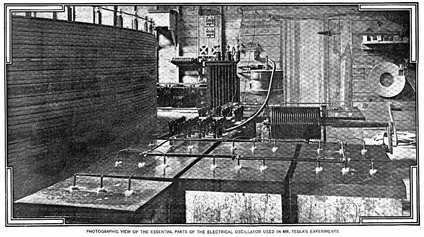 Tesla's Electrical Oscillator