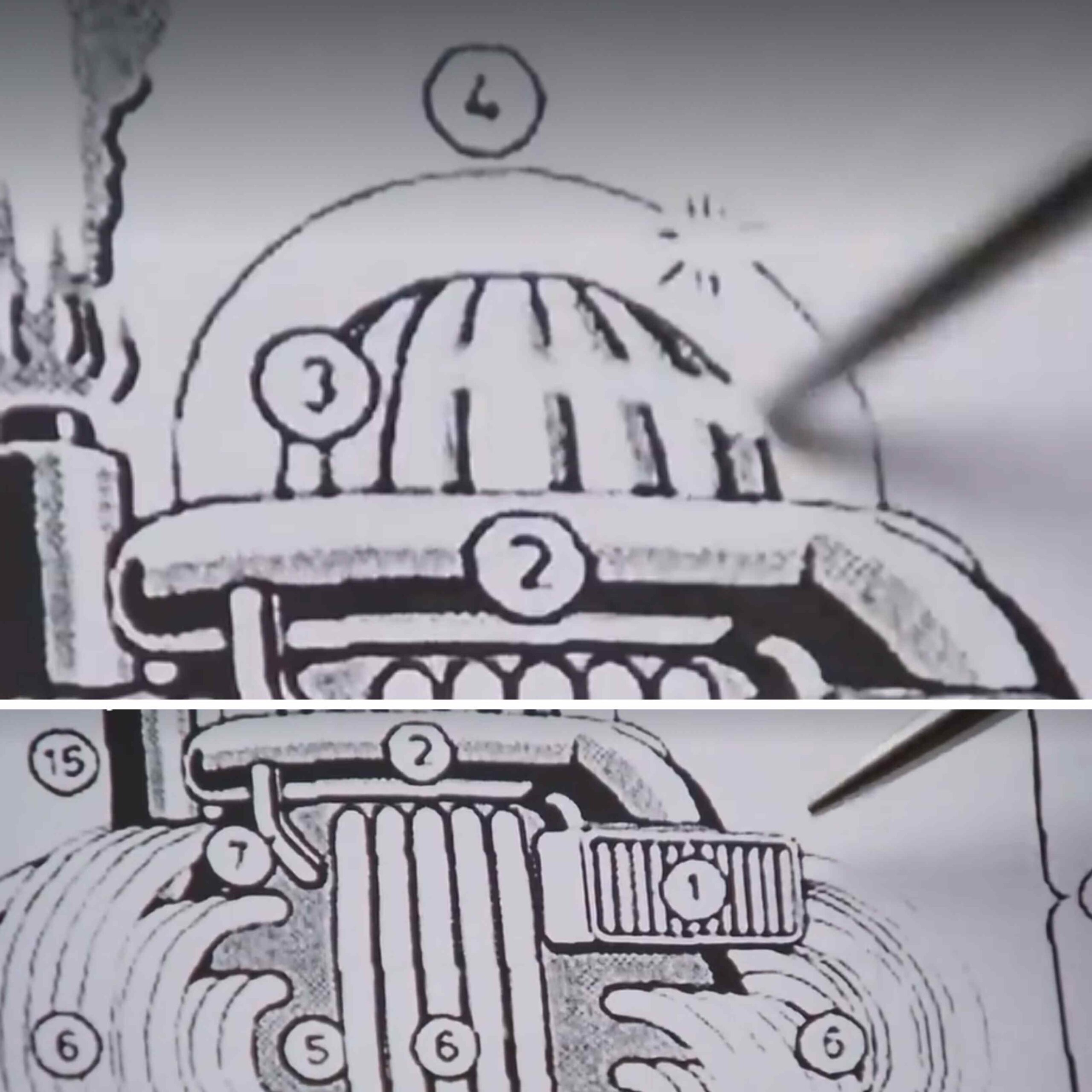 The Manna Machine: The mysterious alien machine that produced food for desert people 7