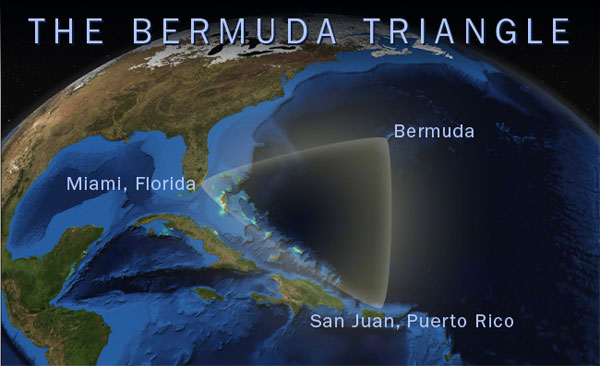 Newly discovered pyramids and advanced technology hidden in the Bermuda Triangle 5