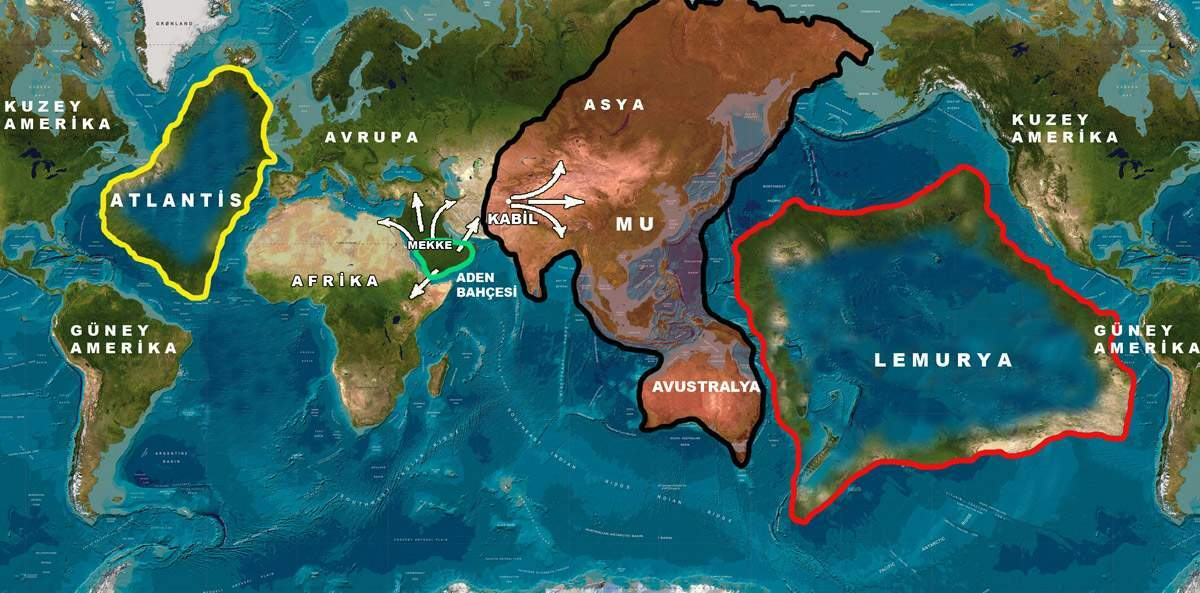 Atlantis vsLemuria: Hidden history of a war of more than 10,000 years ago 5
