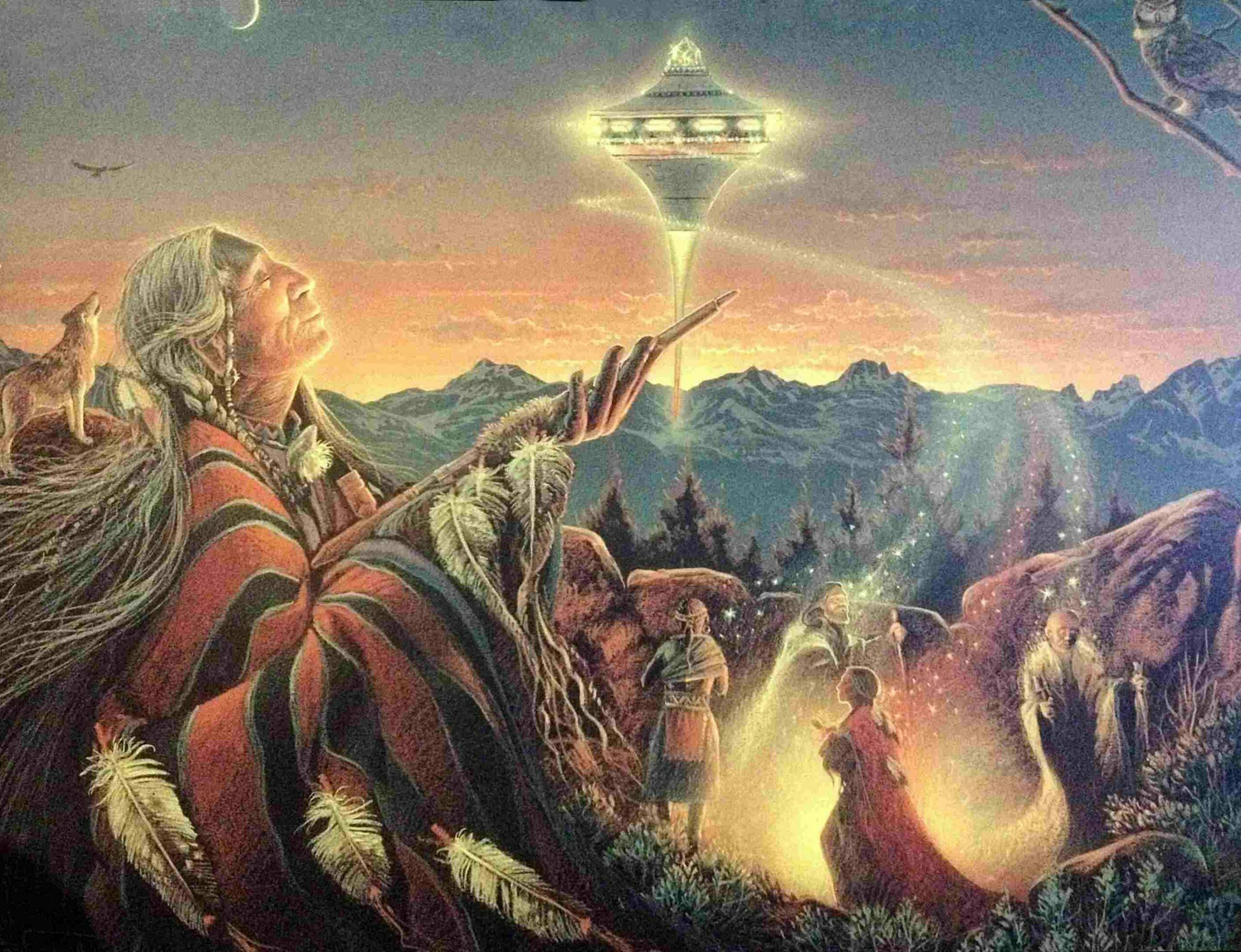 Cherokee tribe & The Nunnehi Beings: Travellers from other worlds 5