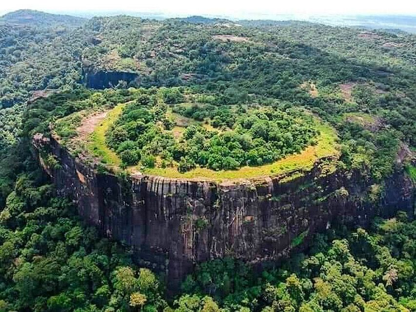 Table to the Danigala mountain also known as Alien Mountain