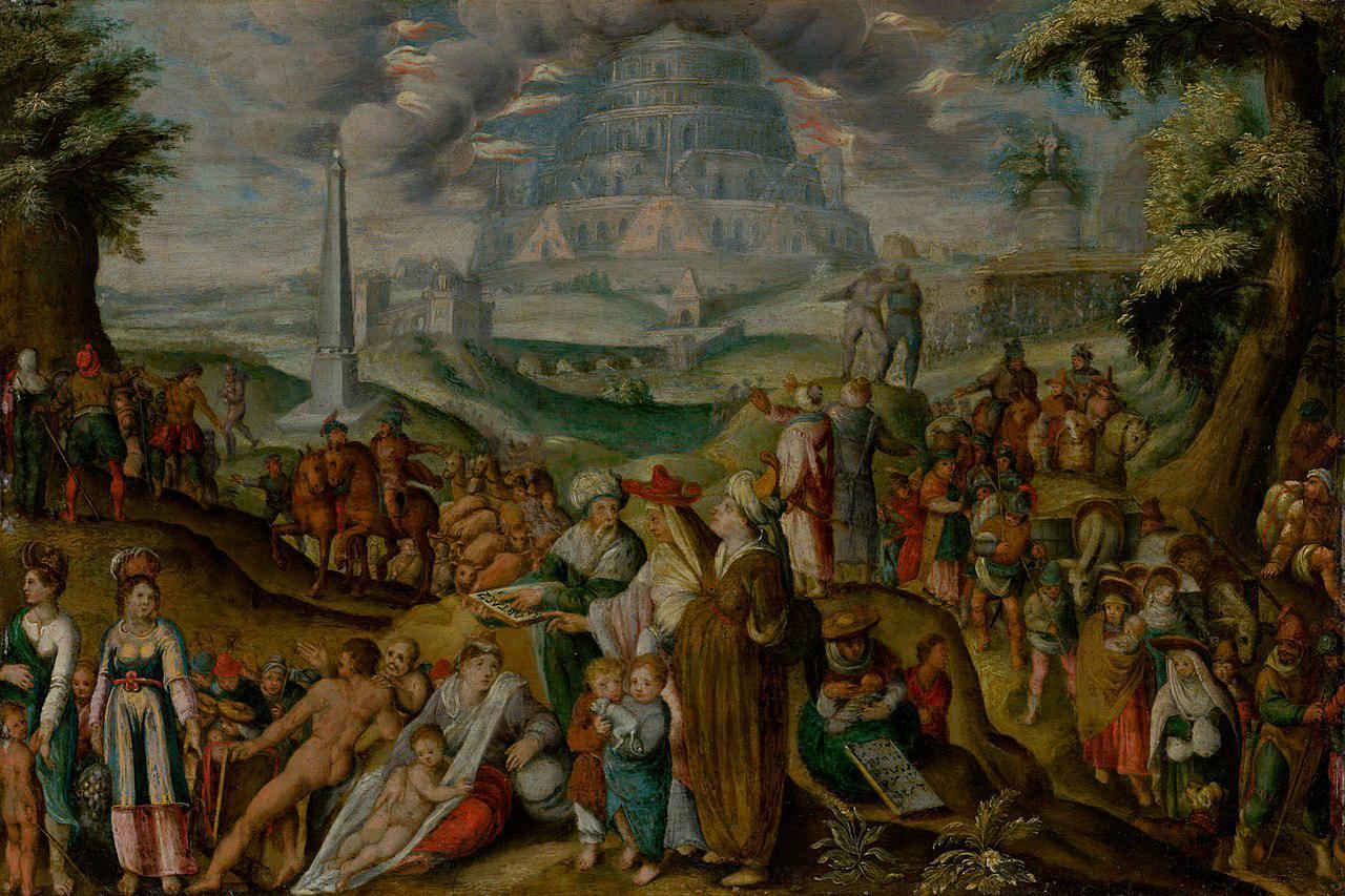 'The Confusion of Tongues' (1620) by Karel van Mander I