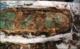 Het lichaam was bedekt met koperen of bronzen platen op het gezicht, de borst, de buik, de lies - en vastgemaakt met leren koorden © Yamalo-Nenets regionaal museum en tentoonstellingscomplex
