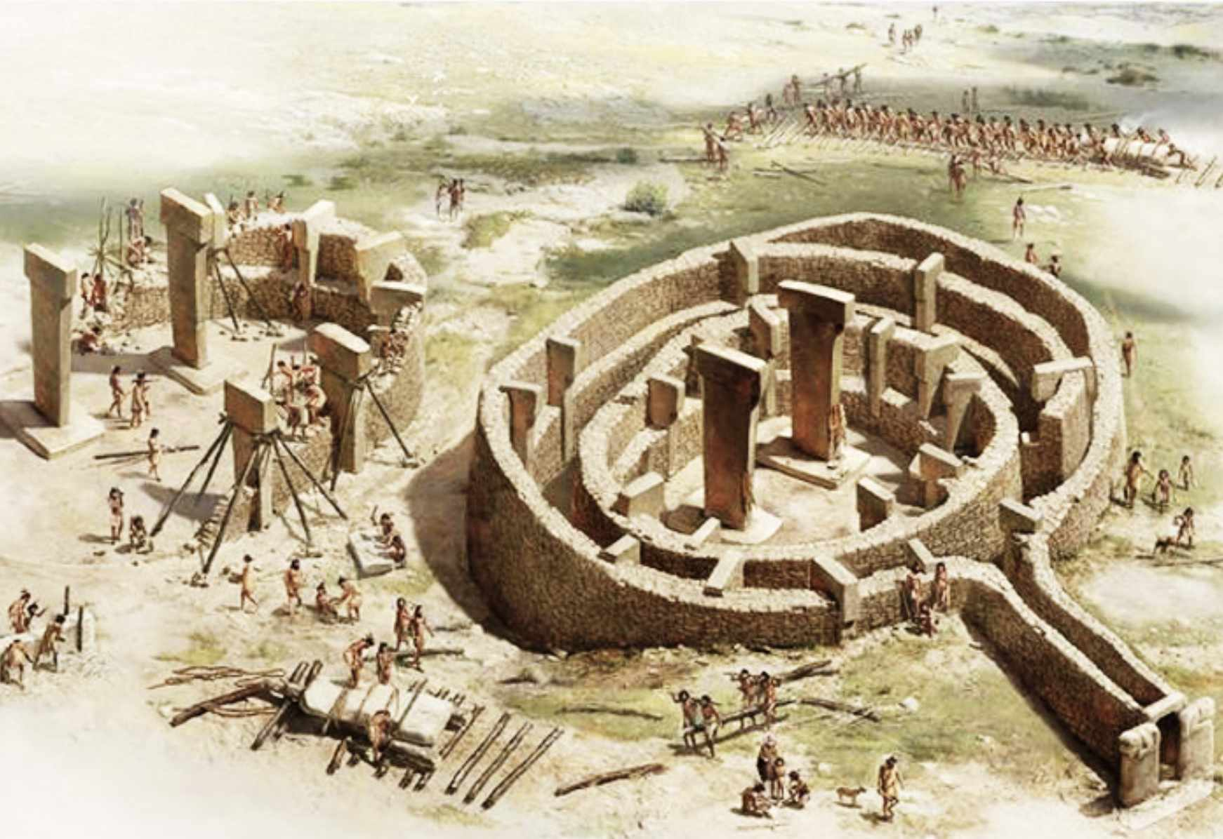 Ancient civilizations, from which only secrets remained 7