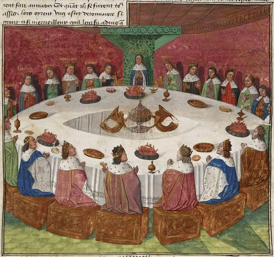 King-Arthur-στρογγυλό τραπέζι