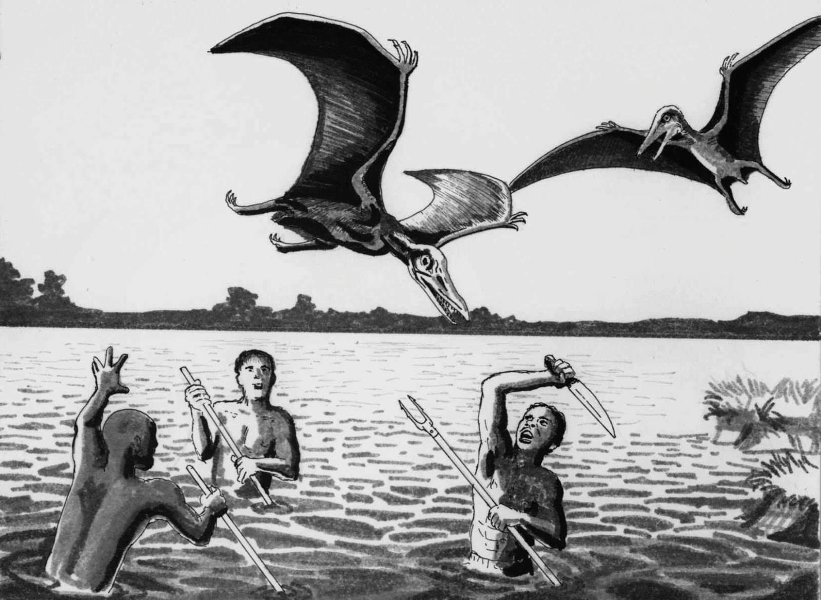 Kongamato – qui a dit que les ptérosaures étaient éteints ? 5