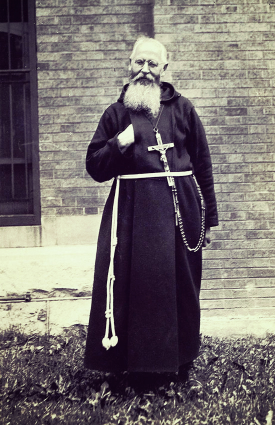 """Father Theophilus Riesiner became America's foremost exorcist, with a 1936 Time article labeling him a """"potent and mystic exorcist of demons""""."""