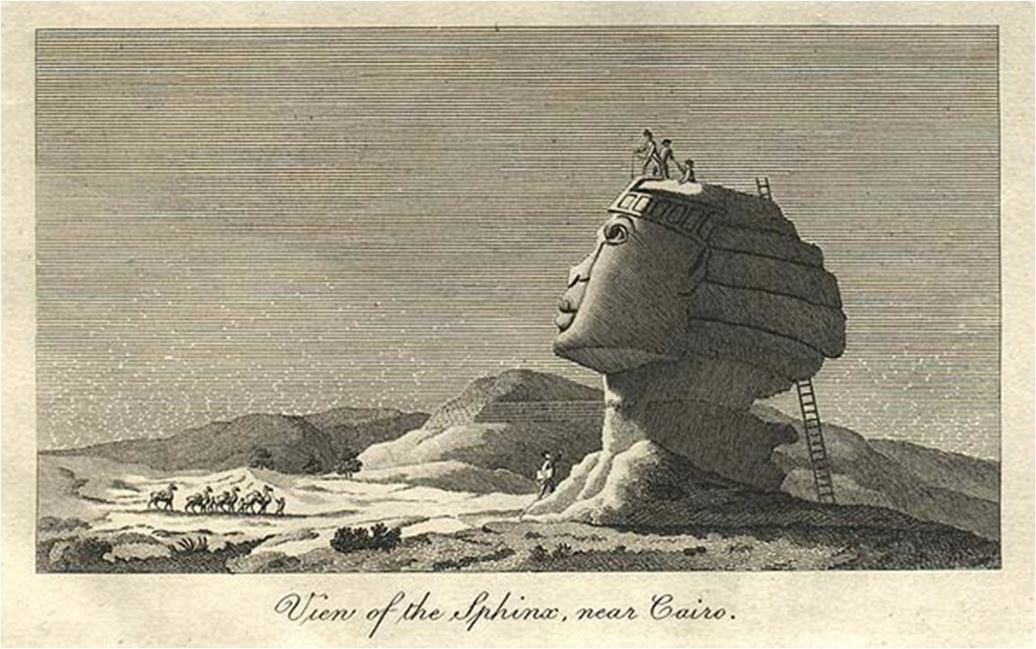 Egypt's secrets revealed: Possibly a second Sphinx & mysterious hidden chambers?? 4