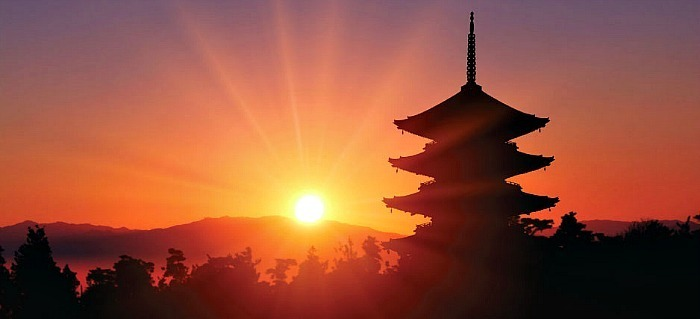 the Land of the Rising Sun.