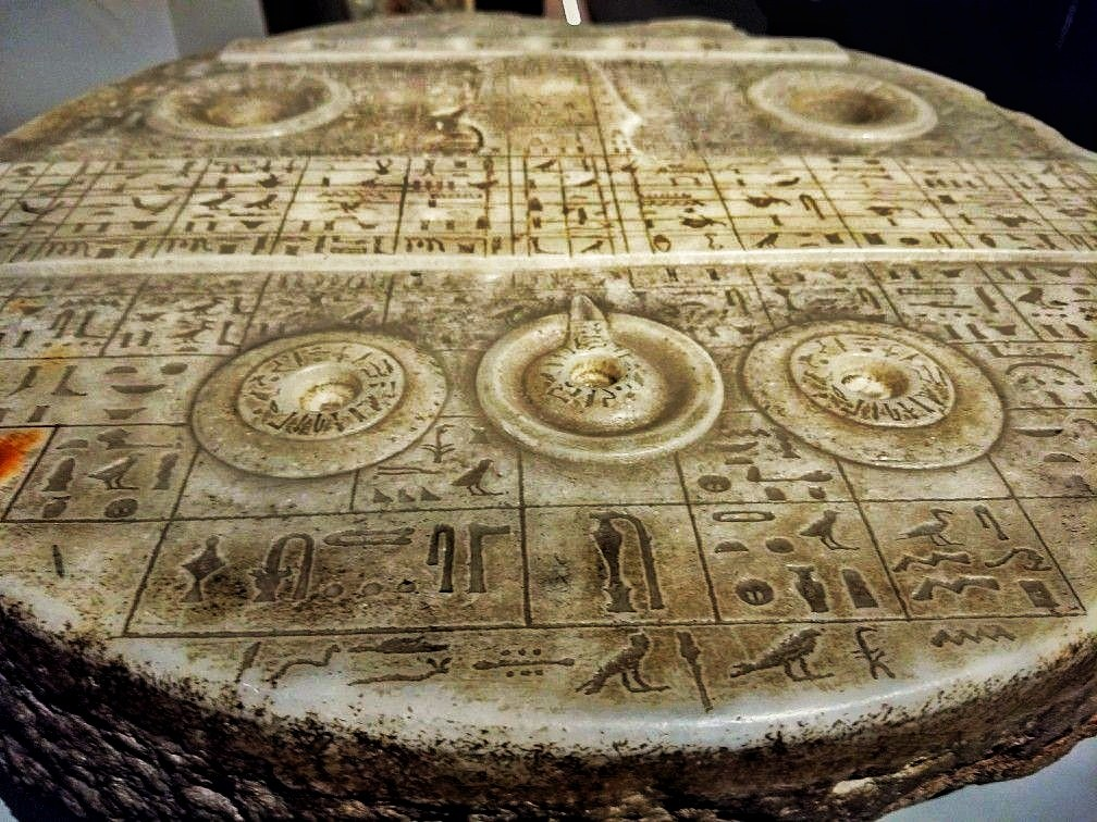 Forbidden archeology: The mysterious egyptian tablet that is similar to an aircraft control panel 3