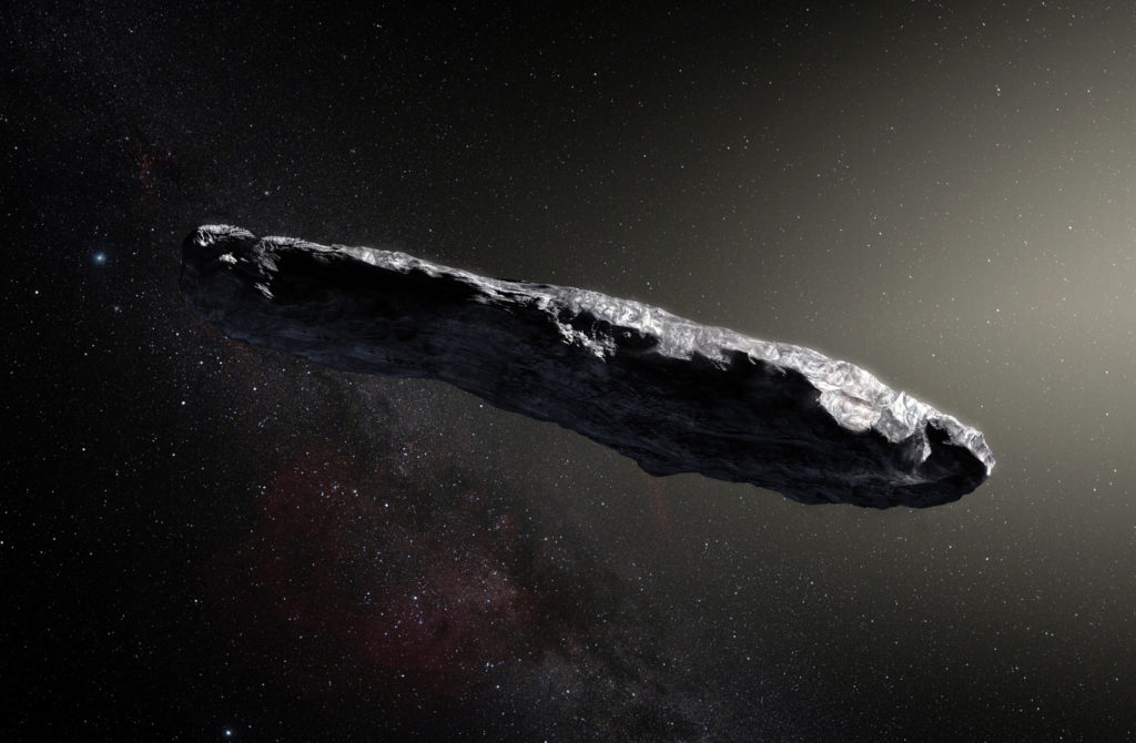 The new theory linking the Pentagon UFOs to the mysterious object of extraterrestrial origin Oumuamua 3