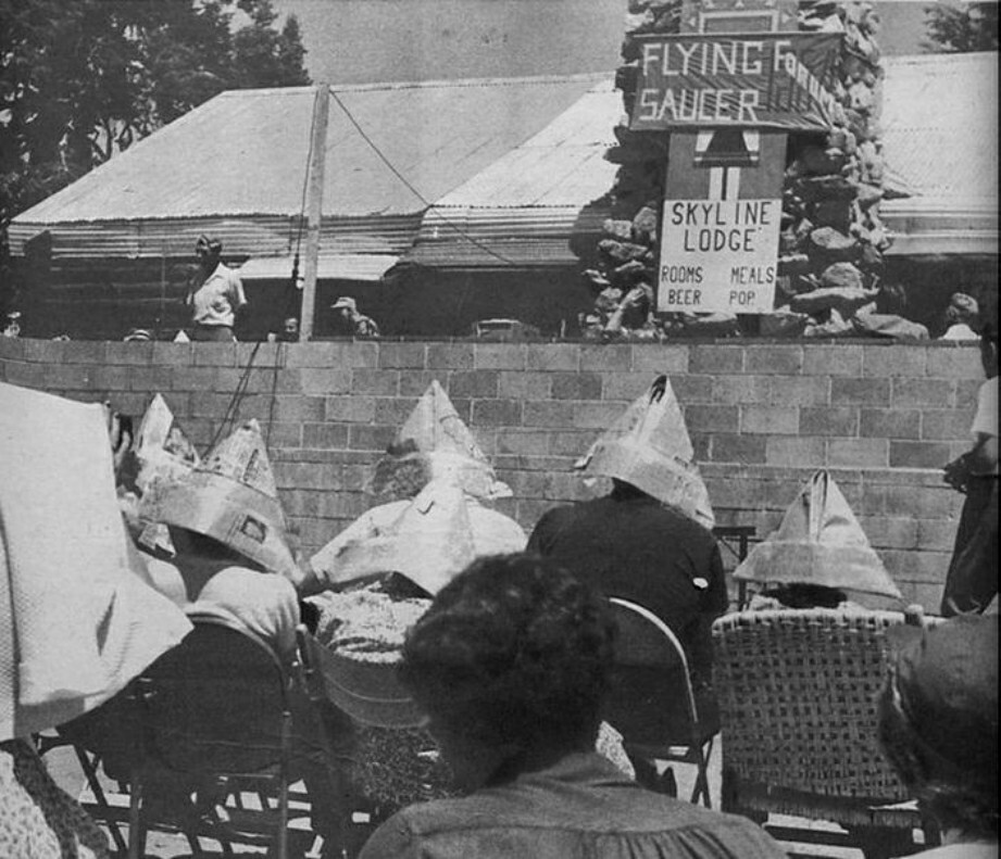 Διάσκεψη UFO στο Palomar, Αύγουστος 1954