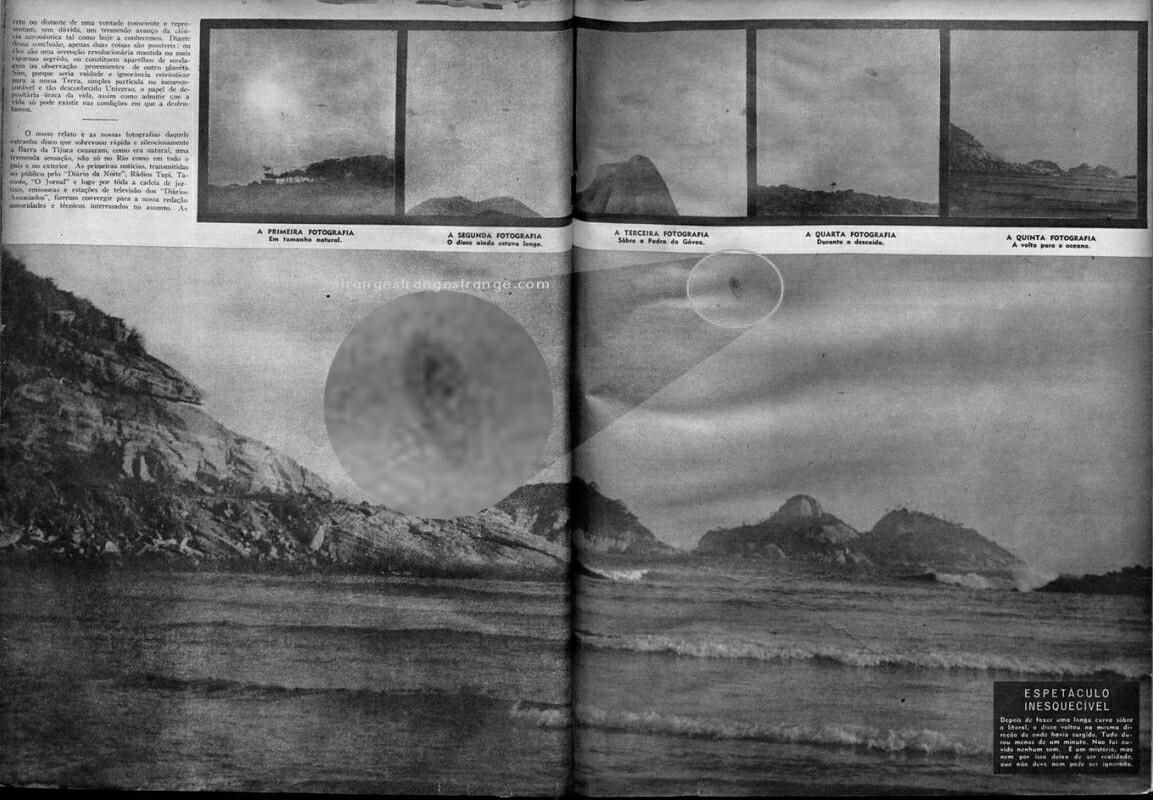 Οι φωτογραφίες των UFO που τραβήχτηκαν στο Barra da Tijuca είναι φάρσα;