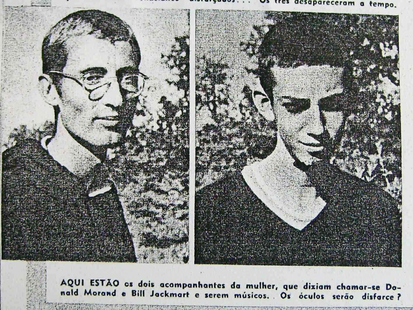 Ο Ντόναλντ Μόραντ και ο Μπιλ Τζάκμαρτ, αμφότεροι ισχυρίστηκαν ότι είναι μουσικοί που ζουν στο Μανχάταν Μπιτς της Καλιφόρνια.