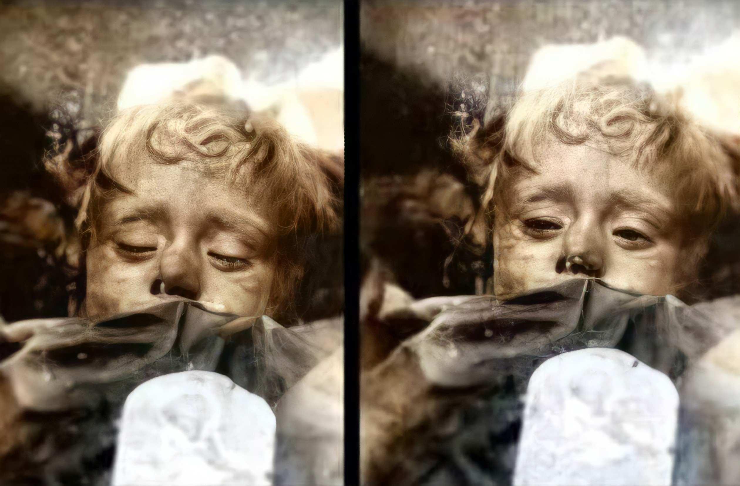 rosalia lombardo de knipperende mummie