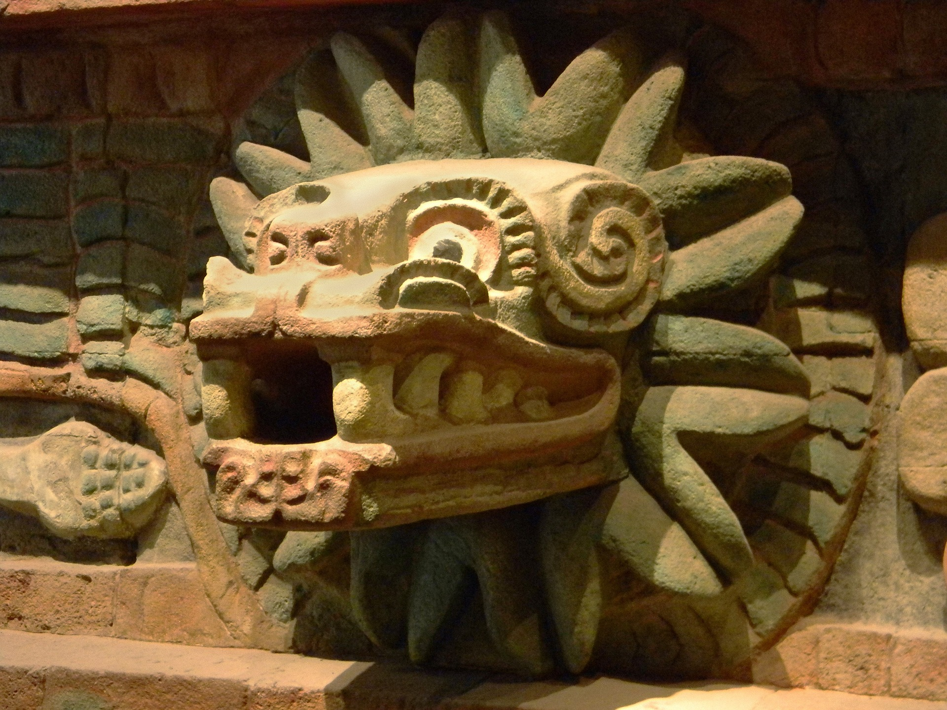Xolotl – The Dog God of the Aztec mythology that guides the dead to the underworld 1
