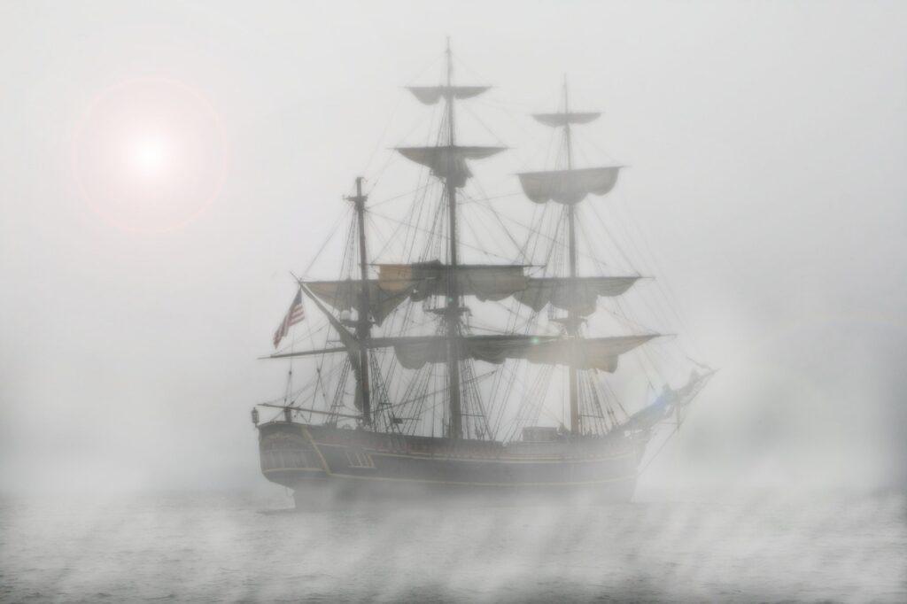 The Flying Dutchman: Een legende van een spookschip verloren in de tijd 5