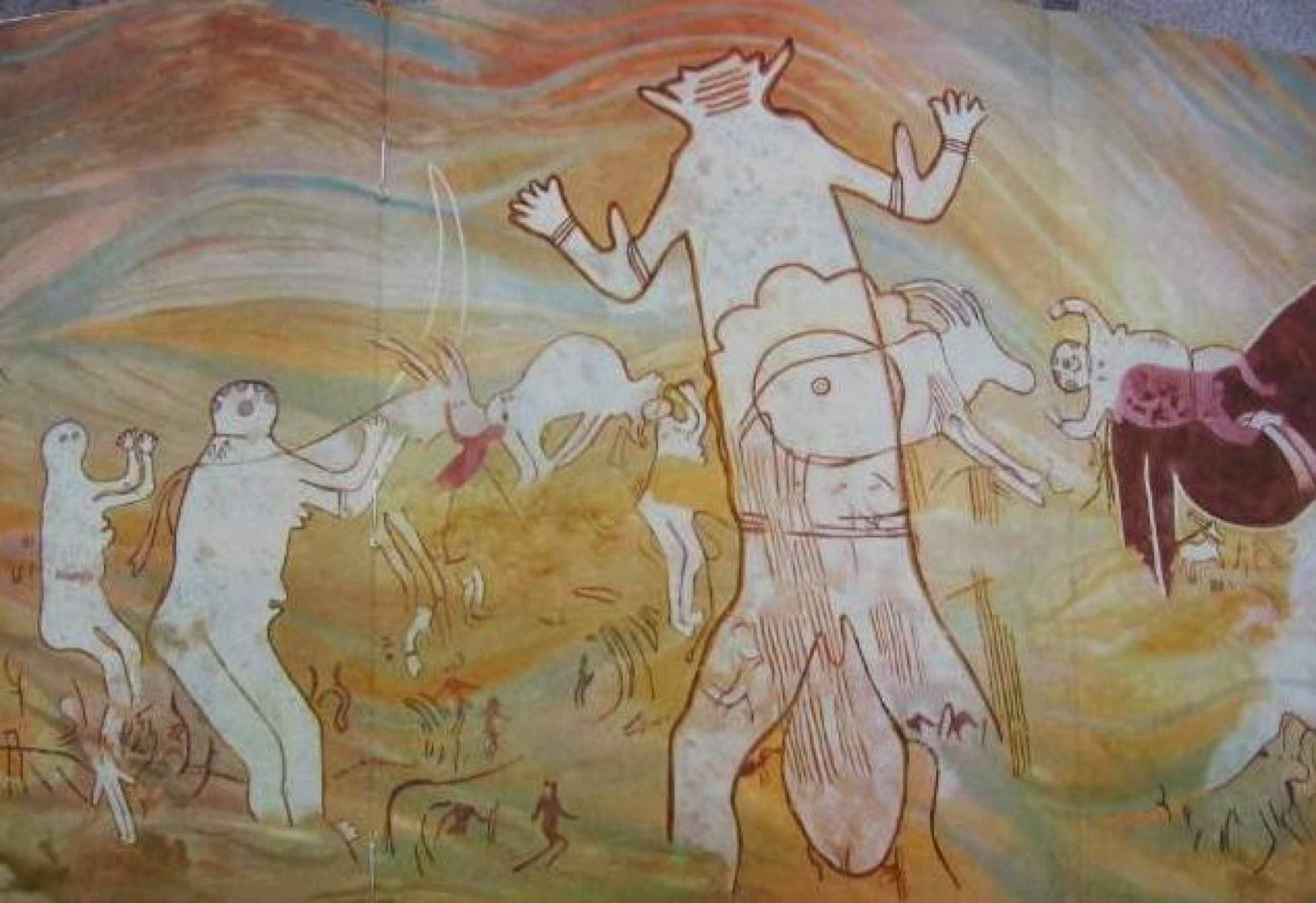Giants and beings of unknown origin were recorded by the ancients 4