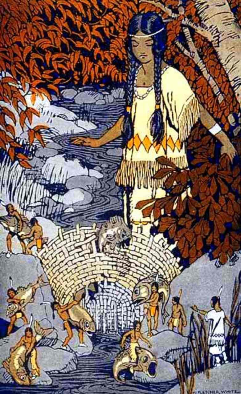 Inheemse Amerikanen beweren dat het Pryor-gebergte de thuisbasis is van de mysterieuze (hobbit-achtige) kleine mensen! 4