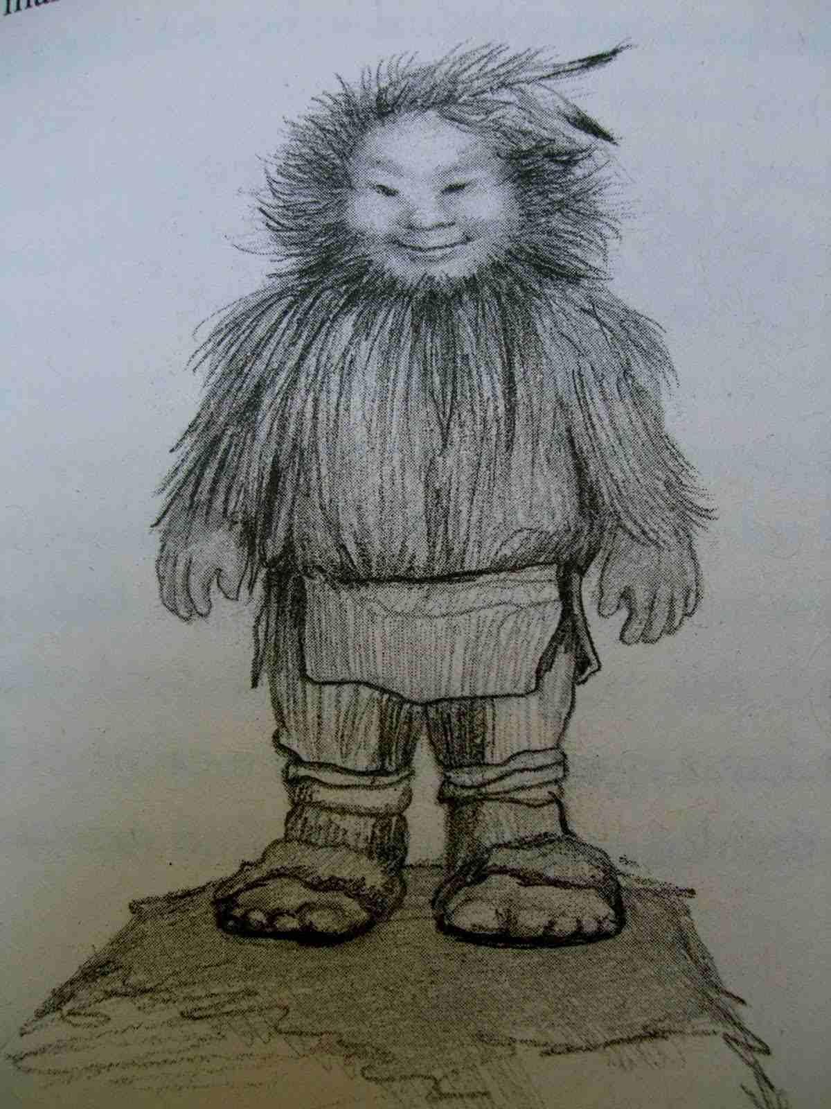Inheemse Amerikanen beweren dat het Pryor-gebergte de thuisbasis is van de mysterieuze (hobbit-achtige) kleine mensen! 5