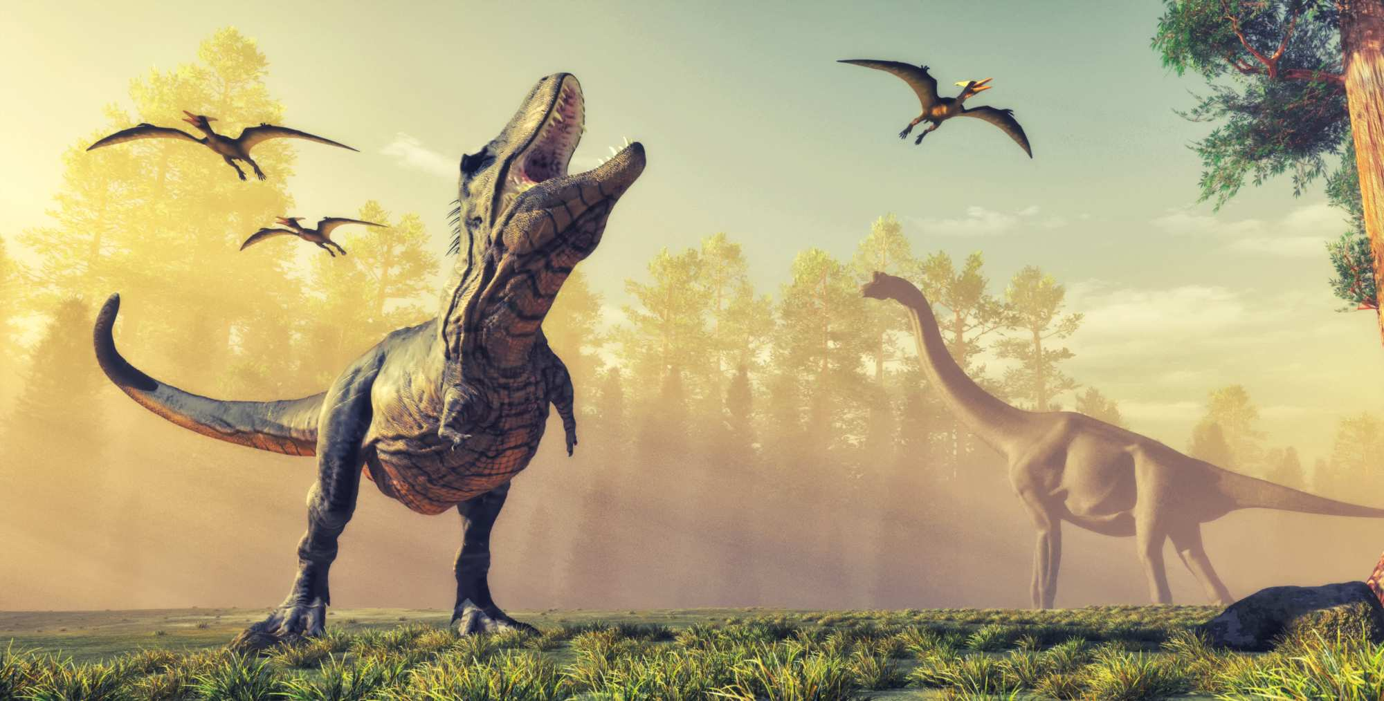 Dinosaurs from prehistoric period