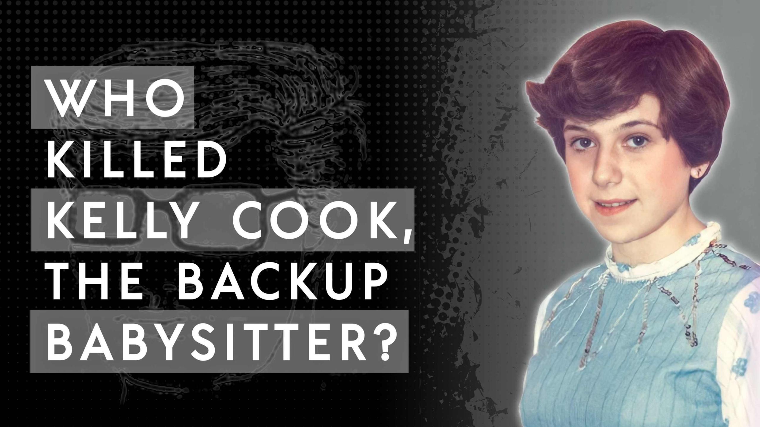 Kelly Cook the backup babysitter