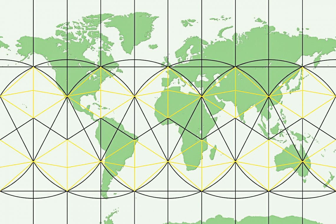 """Ley lines refer to straight alignments drawn between various historic structures and prominentlandmarks. The idea was developed in early 20th-centuryEurope, with ley line believers arguing that these alignments were recognised by ancient societies that deliberately erected structures along them. Since the 1960s, members of theEarth Mysteriesmovement and other esoteric traditions have commonly believed that such ley lines demarcate """"earth energies"""" and serve as guides for alien spacecraft. © Image Credit: LiveTray"""