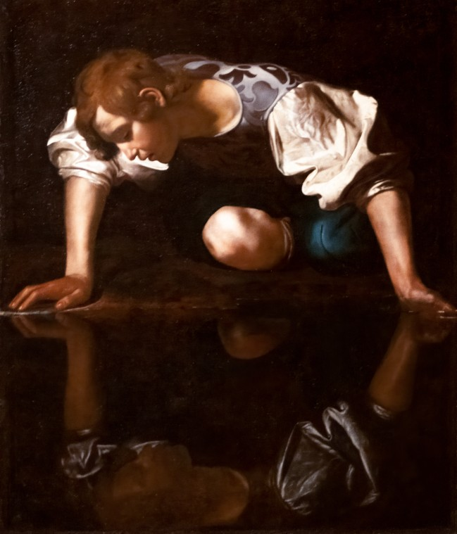 Narcissus, die verliefd werd op zijn eigen spiegelbeeld 3
