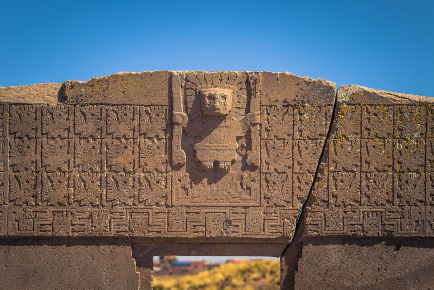 """The secrets of Tiwanaku: What's the truth behind the faces of """"aliens"""" and evolution? 5"""