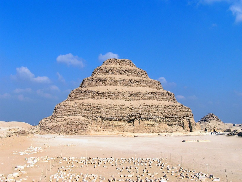 The step pyramid of the ancient Egyptian king Djoser. © Image Credit: Walter Stiedenroth | Licensed from DreamsTime.com (Editorial Use Stock Photo, ID:216602360)