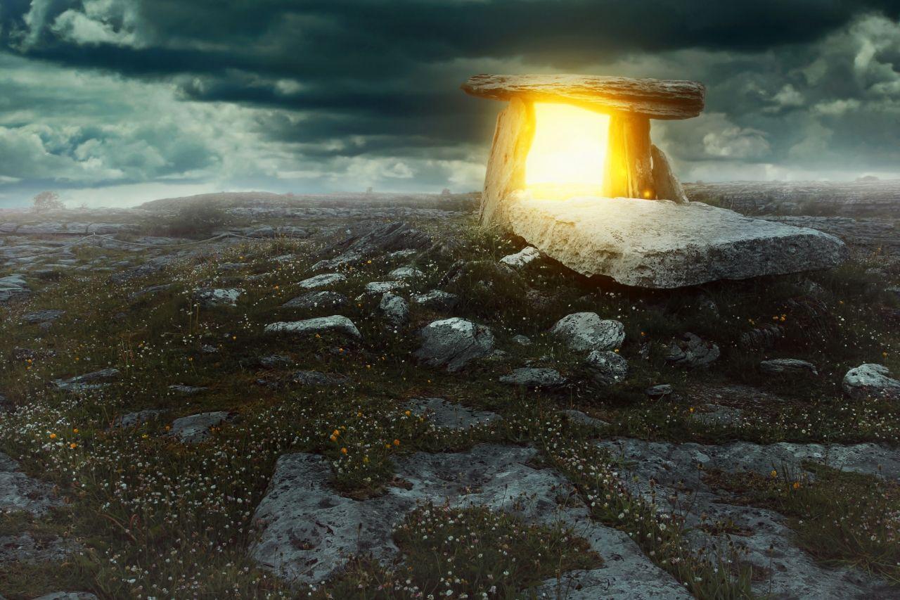 Inga Stone Portal to other worlds
